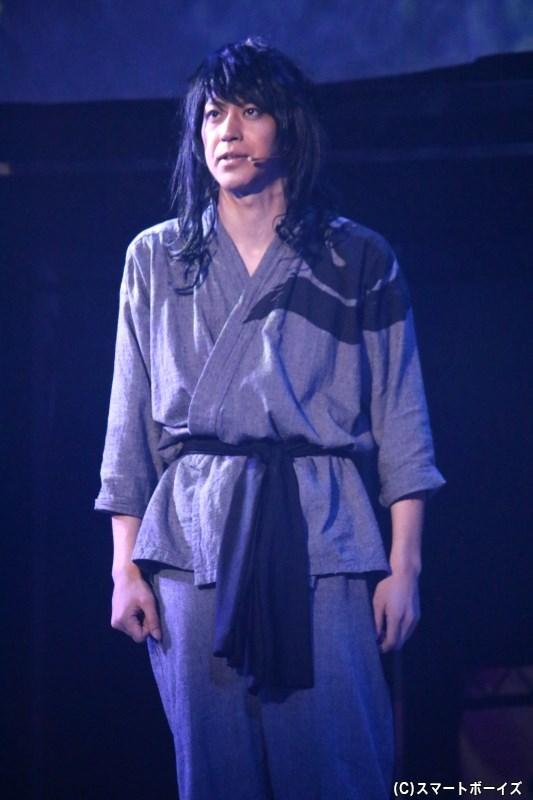 真面目な体育会系:桃醍(とうだい)役の小沼将太さん