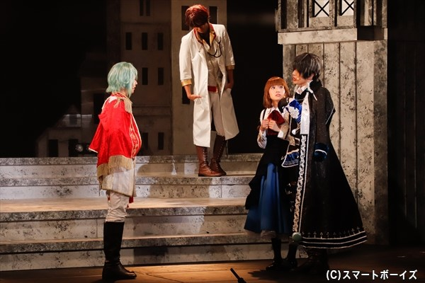 アリスを狙うヨナに向けたレイのセリフに、胸が高鳴るアリス