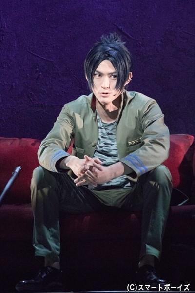 和田雅成さんは、マフィアを憎み、ツナを倒そうと目論む強敵・六道骸を演じます