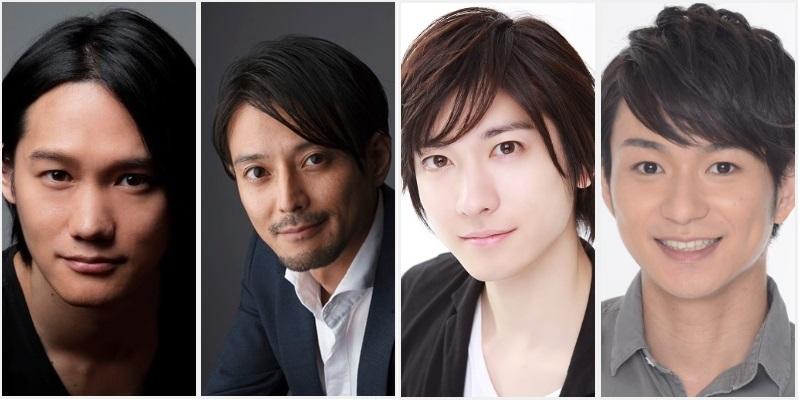 (左から)寿里さん、河合龍之介さん、山本一慶さん、山木透さん