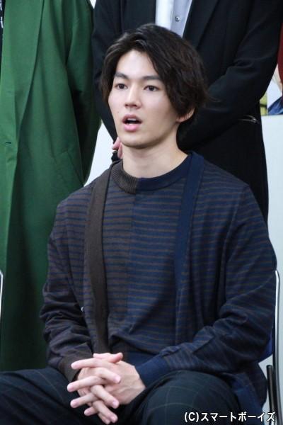 ハク役の矢部昌暉さん