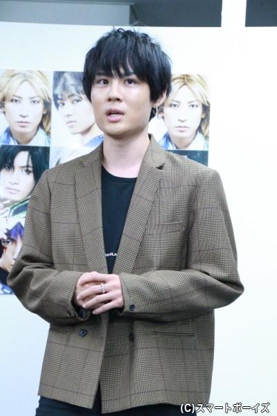 ユン役の樋口裕太さん