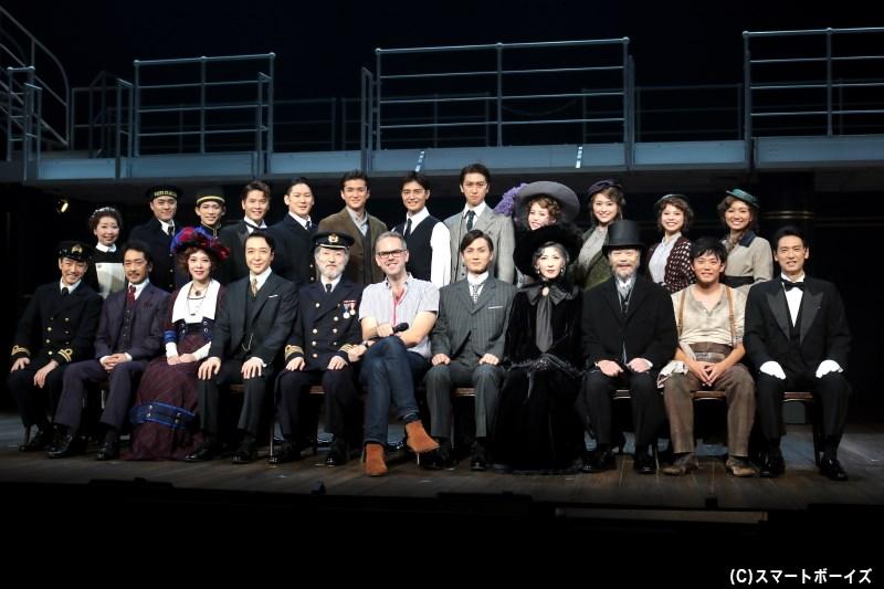新演出版 ミュージカル『タイタニック』、待望の再演がいよいよ出航!