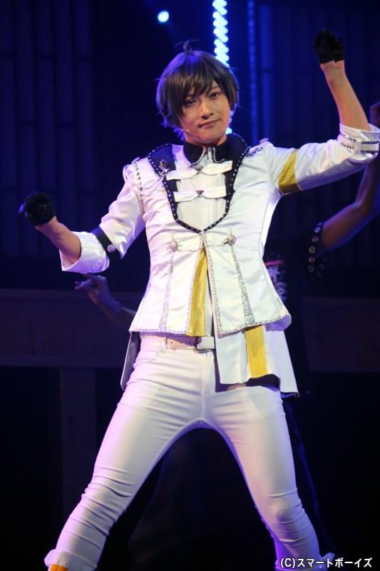 長月 夜 役の秋葉友佑さん