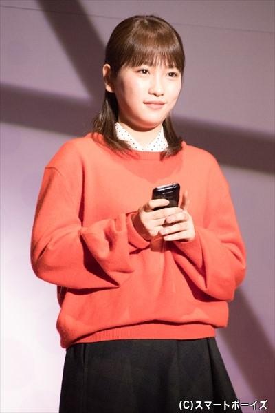 ヒロイン・茜を演じる川栄李奈さん