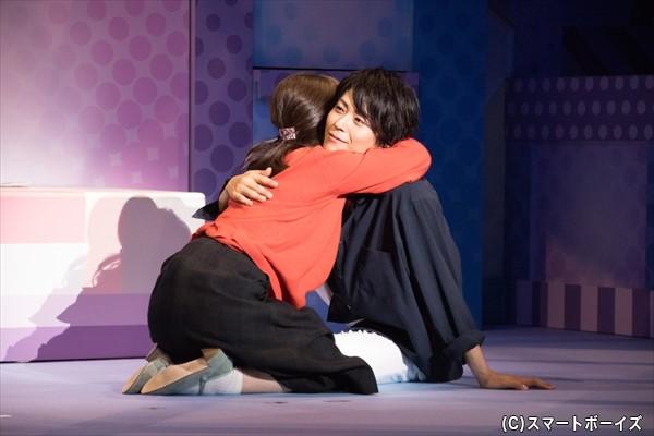 病気を告白した駿が、茜をギュッと抱き寄せる……