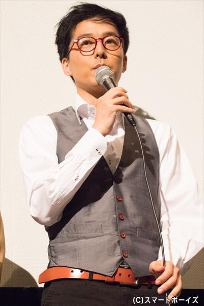 赤ボールペンの男役/伊藤裕一さん