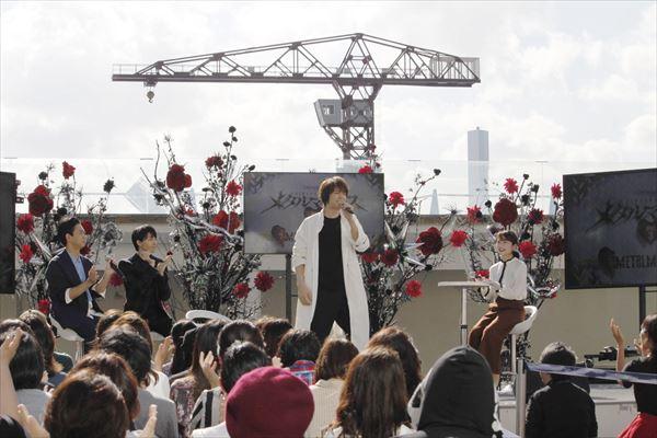 ミュージカル界のプリンス・浦井健治さんが、高杉真宙さん演じるレスポールJr.の歌である「明けない夜は長い」のワンフレーズを披露!