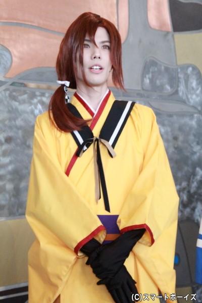 汀紫鶴役の健人さん