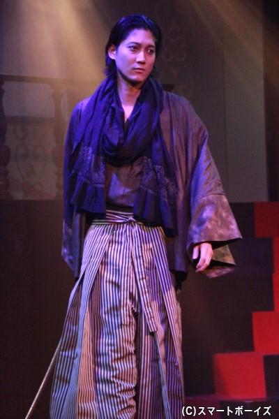 ヨシトシ・T・カイサイ役の宮元英光さん