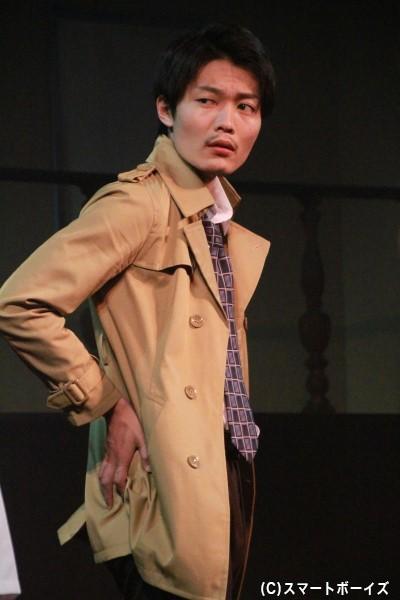 ジャック・ハーディ役の佐藤弘樹さん
