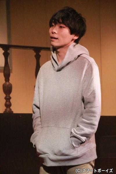 ロドヴィコ・M・ブオナローティ役の岡田地平さん