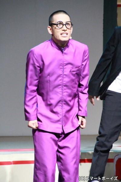 ひろし役の武子直輝さん
