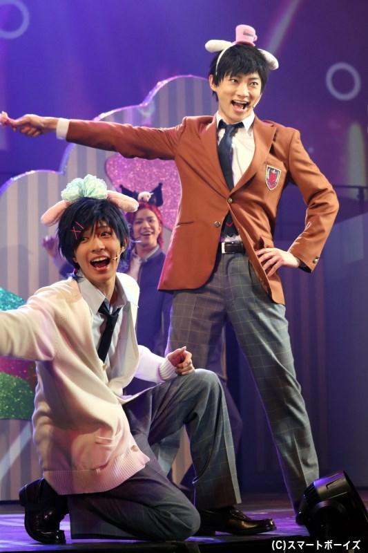 (左から)水野 祐役の笹森裕貴さん、源 誠一郎役の和合真一さん
