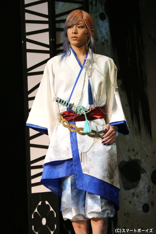 世良里津花(雪女)役の阿部快征さん
