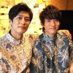 (左から)岸本卓也さん、和田雅成さん