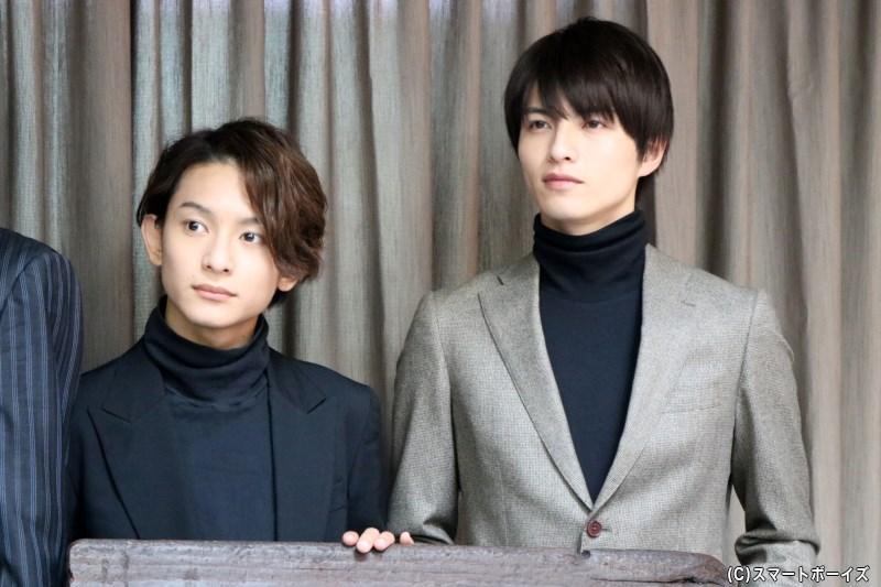 (左から)橋本祥平さん、小南光司さん