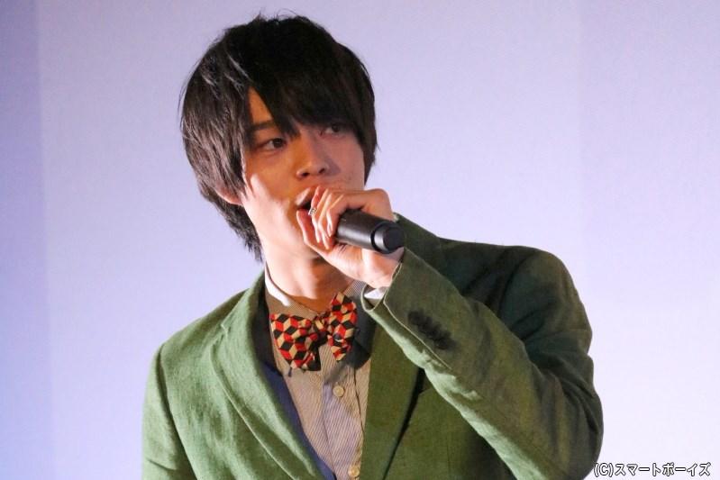 映画より追加キャストとして登場、藤田雅樹役を演じる後藤さん