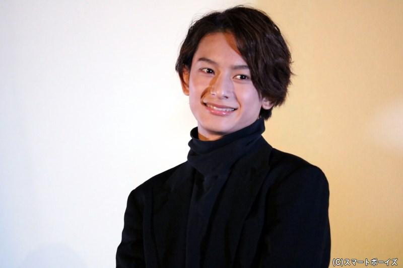 ユージン役の橋本祥平さん