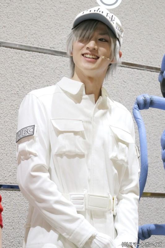 白血球(好中球)役の和田雅成さん