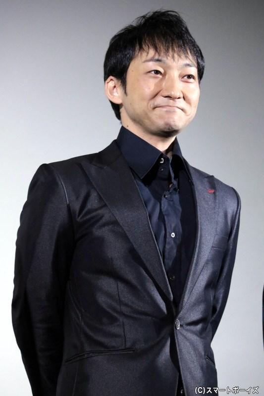 ヤマシロ役 波岡一喜さん