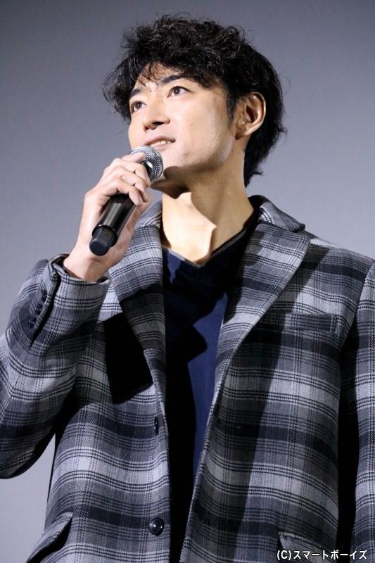 一嶋晴海役 内田裕也さん