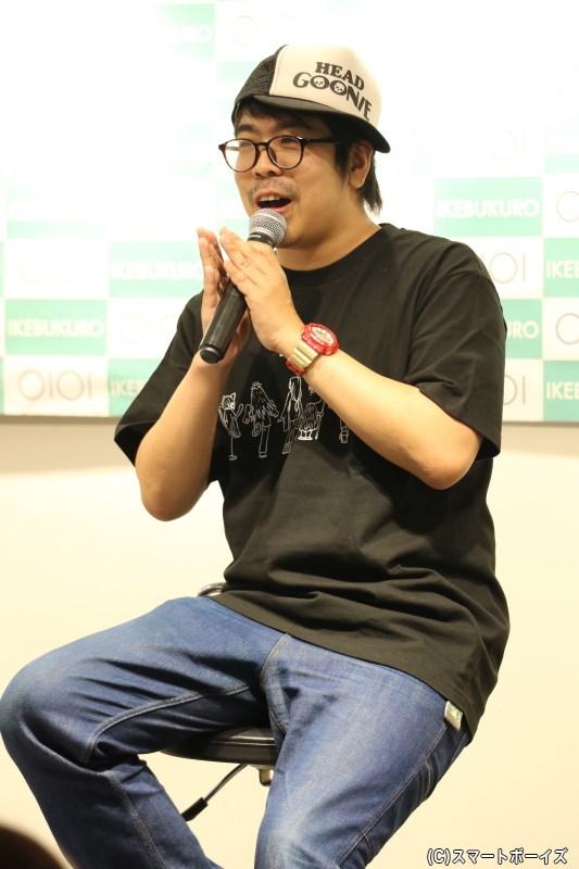 ドラマへのシナリオ提供&舞台版の脚本・演出も手掛ける川尻恵太さん