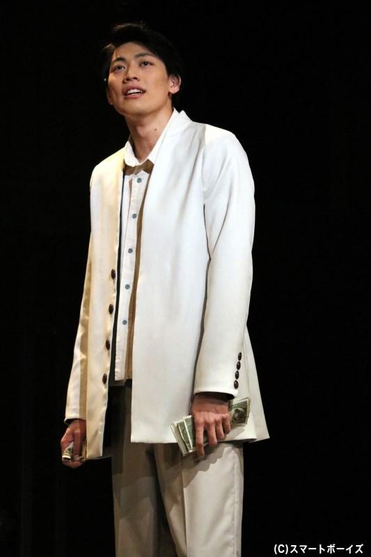 元コピー・ライターの山田羽仁男(東啓介さん)は、「命売ります」という広告を出す