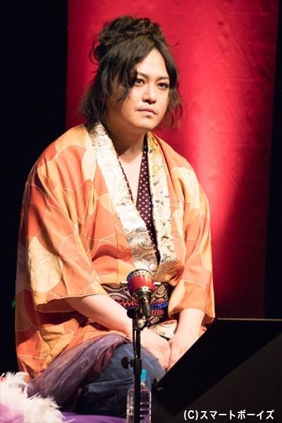コロコロ表情が変化し、コミカルな演技が印象的な宮下雄也さん