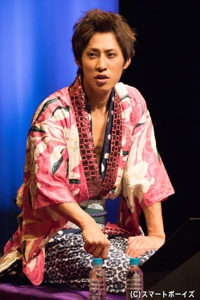 豪快な男らしい声音と演技が光る小笠原健さん