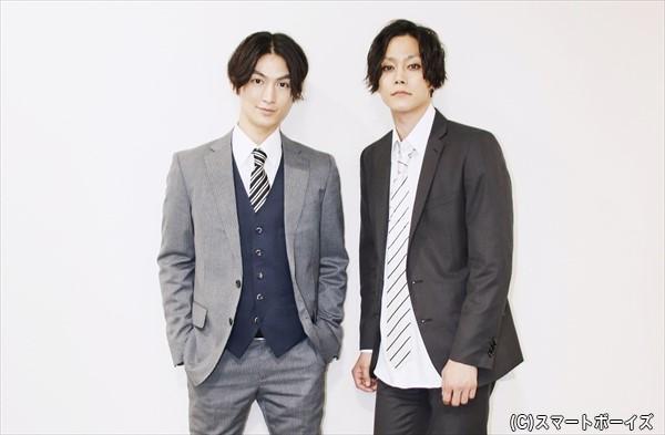 松田凌さん×玉城裕規さんの対談インタビューを2日連続更新します!