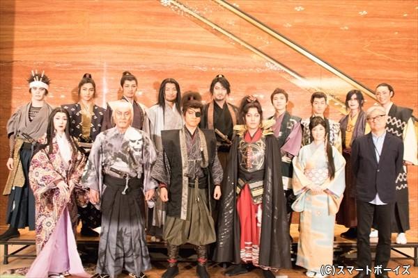 ド派手スペクタクル時代劇、東京公演がついに11月3日開幕!