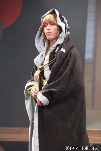 武蔵坊弁慶役の石渡真修さん