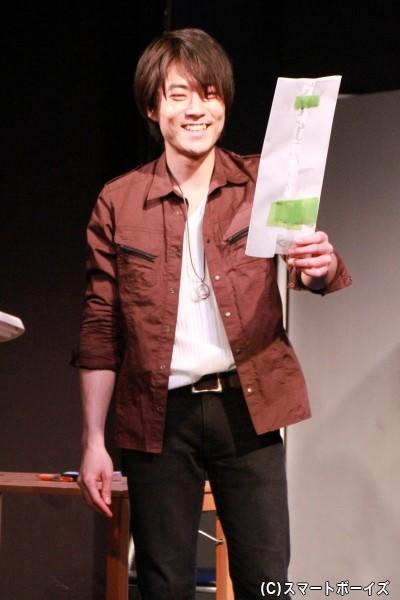 木下晴貴さん演じる風祭左京は、劇団「タイガーパンプキン」の看板俳優