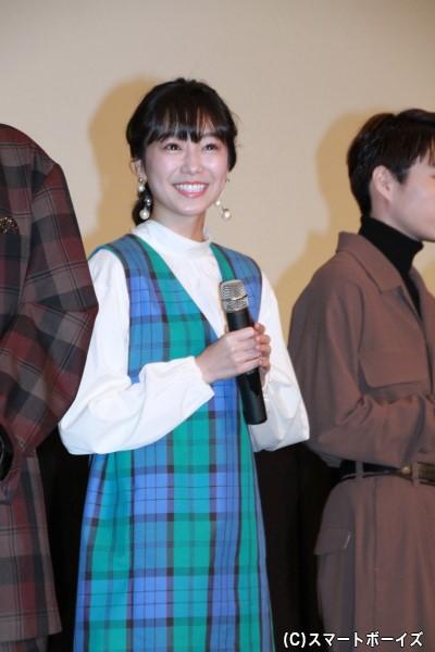 石動美空役の高田夏帆さん