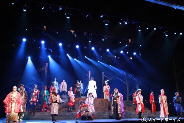 第一部『風林火山をす・る』は、総勢27名が繰り広げる青春友情浪漫活劇