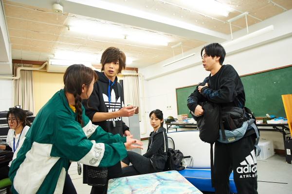 染谷俊之さんがディレクター役で、八面六臂の大活躍!