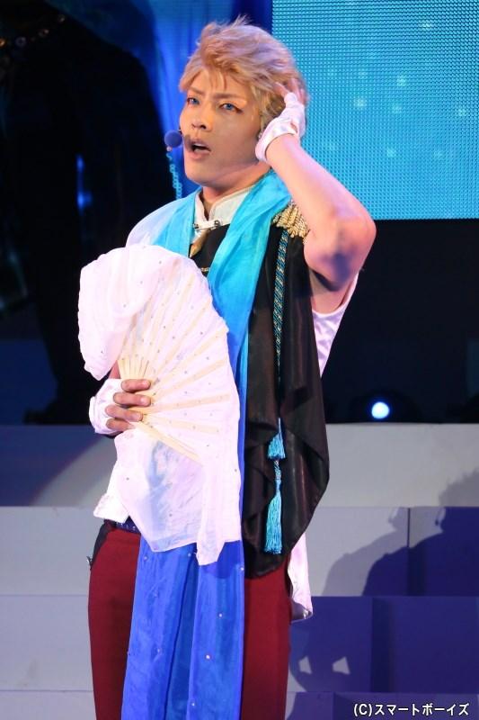 文月 海 役の土井一海さん