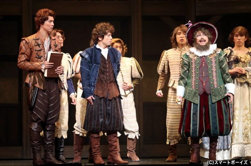 ナイジェルの新作を探るため、シェイクスピアは変装してボトム兄弟の劇団に潜入するが……!?