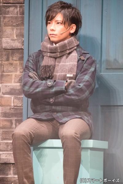 スクルージの会社の社員・トニーベイカー役/千吊(ペンタゴン)