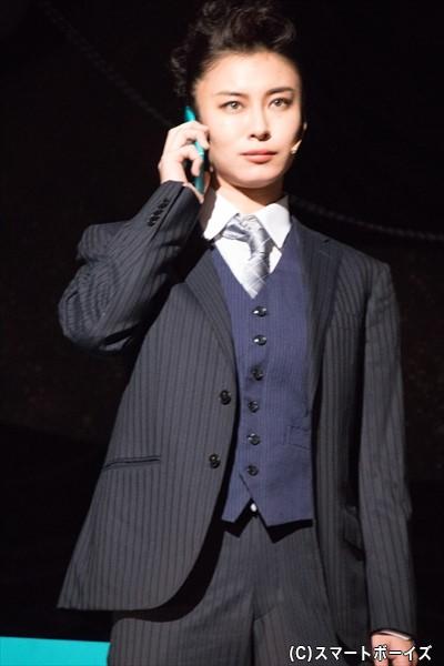 スクルージの会社の副社長・マッケンジー役/AKIRAさん