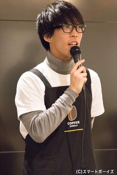 篠塚辰徳役/宮川智司さん