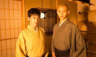 大薮丘さん(左)と大隅勇太さんの、お正月だよ!ガチンコ対決~♪
