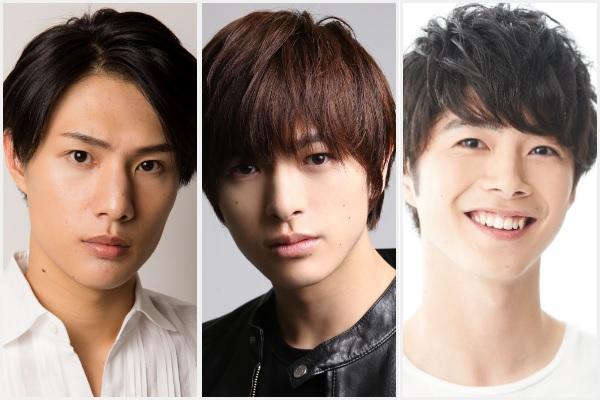 (左から)辻凌志朗さん、遊馬晃祐さん、佐藤信長さん