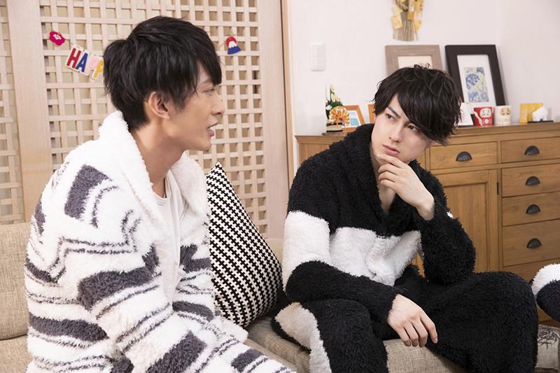 インタビュー中もじゃれあっていた菊池さん&松村さん