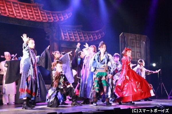 松田さんが見どころと語ったダンスシーン。今作では、森川次朗さん&KOHMENさん&本山新之助さんという3人の人気振付師が担当!