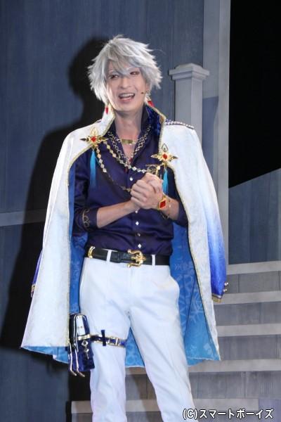 フロスト役の吉岡佑さん