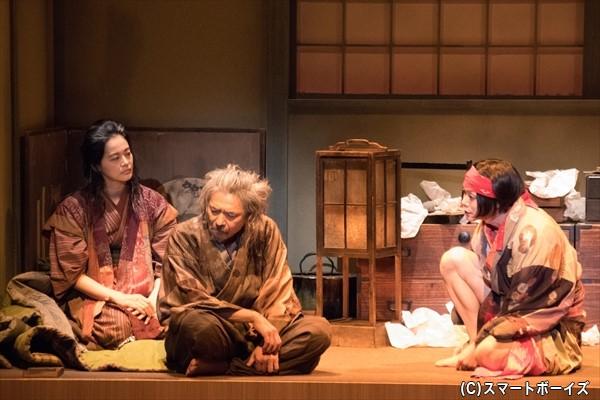 北斎の孫・時太郎は素行不良で、お金をせびりに来てばかり
