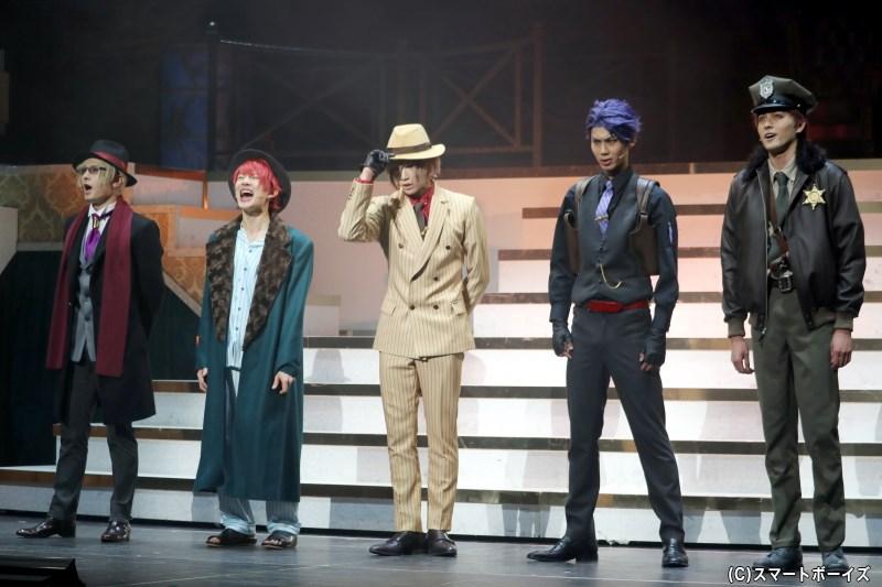 いよいよ迎えた「秋組」初公演、ダーティーな世界観の物語に注目!