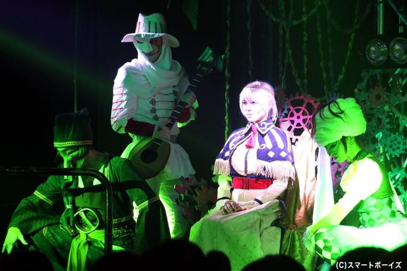 フランシーヌ人形のために生まれた、自動人形の「最古の四人」が立ちはだかる